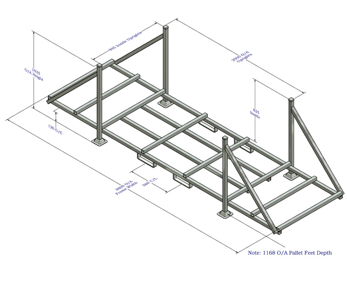 Series 90 Tube & Bar Pallets