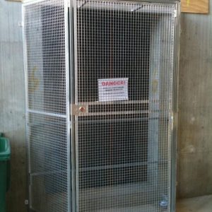Lift Well Safety Enclosure